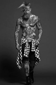 Let's specifically discuss Josh Mario John's haircut, hairstyles and hair in this thread. Josh Mario John is a male model who has been known for his man bun hairstyle as well as his different Undercut Josh Mario John, Sexy Tattoos, Tattoos For Guys, Tatoos, 3d Tattoos, Sleeve Tattoos, Hair And Beard Styles, Long Hair Styles, Mode Hipster