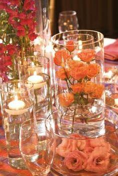 Centerpiece Candle Wedding Reception Flower   How to make Candle Centerpieces for your Wedding Reception   Readtodo