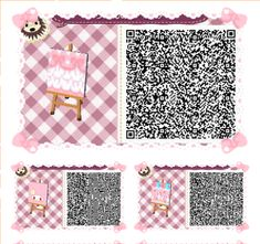 CUTE Pink Foo Foo Path Set #1