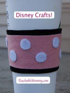 Minnie Mouse craft, Disney Crafts, Disney Trip