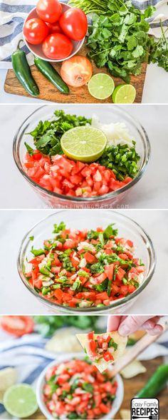 Fresh Pico de Gallo is one of the best healthy recipes. It makes the perfect snack dip or topping for Mexican food. You can make this no cook recipe in as little as 10 minutes with just a handful of fresh ingredients. Quick Ground Beef Recipes, Healthy Ground Beef, Healthy Beef Recipes, Beef Recipes For Dinner, Sausage Recipes, Kale Recipes, Eggplant Recipes, Chicken Recipes, Fish Recipes