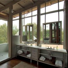 Open plan bathrooming