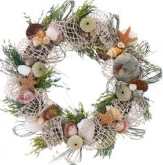 """Mermaid Collection 22"""" Wreath"""