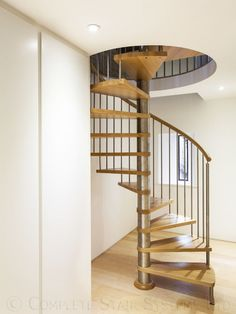 Spiral Staircase with beech treads