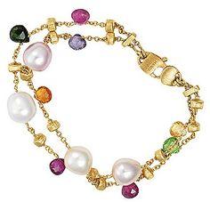Marco Bicego  Paradise 18ct yellow gold beaded bracelet