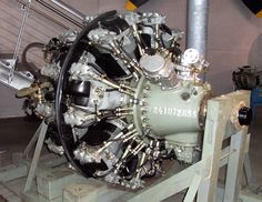 Did you guess what it is?  It's an aircraft engine.