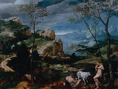 Landscape with Mercury and Argus (Getty Museum) unknown 1570's oil on panel