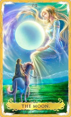 Takaki Alchemia Tarot - The Moon