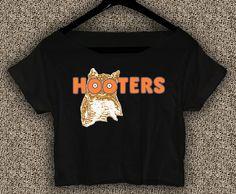 Hooters+Owl+Boobs+T-shirt+Hooters+Owl+Boobs+Crop+Top+Hooters+Owl+Boobs+Crop+Tee+1