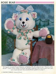 Crochet In Action:  Rosie Bear