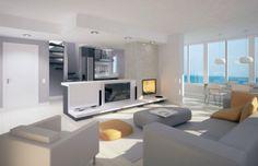 Diseño interior de apartamento en Castelldefels
