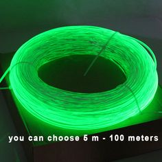 ambientacion  / idea de iluminacion / Side Glow Cable de fibra óptica