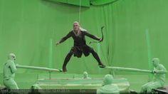 How Orlando Bloom Shot The Hobbit's Amazing Barrel Scene