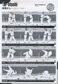 体落とし Taiotoshi Martial Arts Techniques, Self Defense Techniques, Japanese Jiu Jitsu, Judo Throws, Fighting Moves, Jiu Jitsu Training, Ju Jitsu, Hapkido, Combat Sport