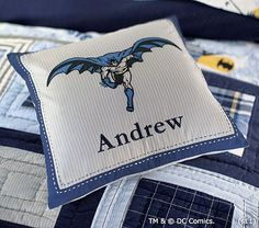 Personalized for his bed