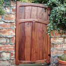 Custom Made Mesquite Gate by Cliff Spencer Furniture Maker