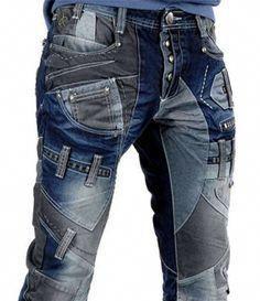 98 E8 *NEU* Coole Jeans Hose für Jungen mittelblau viele Nähte Gr
