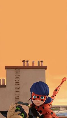 Miraculous Ladybug Fanfiction, Miraculous Ladybug Movie, Miraculous Ladybug Wallpaper, Mlb Wallpaper, Cute Disney Wallpaper, Blue Haired Girl, Adrien Y Marinette, Meraculous Ladybug, Roblox Pictures