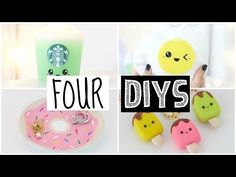 4 DIY GIFT & ROOM DECOR CRAFT IDEAS TO DO WHEN YOU'RE BORED! - YouTube