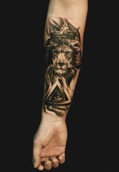 Animal Hand Tattoos for Men . Animal Hand Tattoos for Men . King Tattoos, Leo Tattoos, Future Tattoos, Animal Tattoos, Body Art Tattoos, Tattoo Drawings, Tattoos For Guys, Sleeve Tattoos, Tatoos