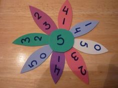 Cute idea for spring! Math Addition, Addition And Subtraction, Math Gs, Math Stations, Number Sense, Elementary Math, Math Activities, Diy And Crafts, Kindergarten