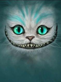 Gato de Cheshire #cheshirecatsdiy