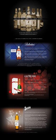 PERNOD-RICARD mini site flash pour les PFA Pernod Ricard, Mini Site, Book, Art Director, Book Illustrations, Books