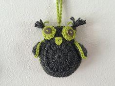 Halloween Owls Halloween decor handmade owls by GirlCanHook