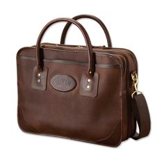 Just found this Personalized Leather Briefcase - Bullhide Leather  Extra-Capacity Briefcase -- Orvis 0dadab1e38c54