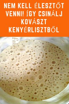 Hungarian Desserts, Hungarian Recipes, Canning Recipes, Diy Food, No Cook Meals, Bread Recipes, Food Inspiration, Food To Make, Vegetarian Recipes
