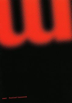 emoiAnkündigungsplakat - Announcement poster designed by Julia Hasting 1995