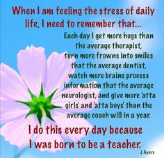 For all the hardworking dedicated teachers  out there. This is what makes our jobs worthwhile!