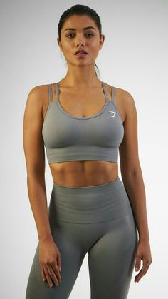 b8cafc2e62 The Seamless Cross-Back Sports Bra is a beautiful and comfortable addition  to any workout