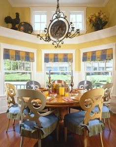Saratoga Residence French Country Decor Dining Room Cottage