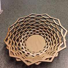 techsaavy: Yes you can cut bowls with a laser #woodworking #lasercut #madeinsc #yeahthatgreenville
