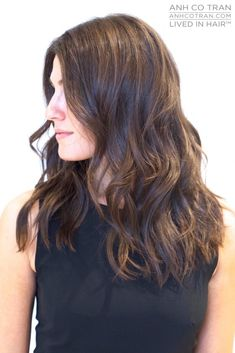 Image result for haircuts for wavy medium length hair