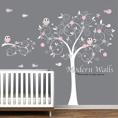 Stickers Autocollants vinyle Wall Sticker arbre branche