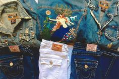 Some more of my original designs for True Religion Brand Jeans!