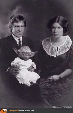 Star Wars family portrait :)