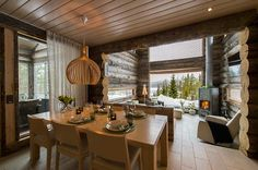 There is only a short drive to the excellent, snow-sure slopes of Ruka Holiday Resort. Cross-country ski tracks and snowmobile routes pass right next to the chalet, and the lake is only a stone's
