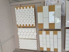 Hex or subway milk glass. Saltillo Tile