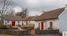 Cottages in Kilmacrennan, Donegal