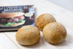 Steamhaus - Rezept für Kombi-Steamer und Dampfgarer: Burger-Buns mit Seasam. Burger Buns, Burgers, Fast Food, Steamer, Hamburger, Frozen, Bread, Homemade, 20 Min
