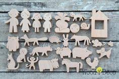 Деревянные игрушки от Wood Deco