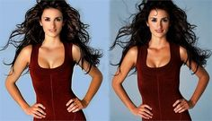 Celebrity Photoshopped Before and After-19