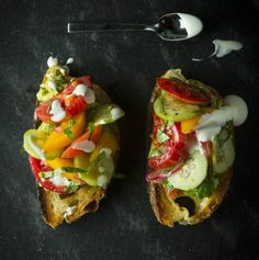 Sous Chef Series: Julya Shin's Avocado Toasts with Tomato