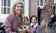 Queen Maxima visits a debt relief organisation inLeiden
