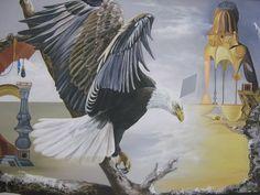 Equivocación 81 cm x 100 cm Oleo-Lienzo 2008 3500€ #arte #art #cuban #CesarIvan Bird, Animals, Canvases, Birds, Nature, Animaux, Animal, Animales, Animais