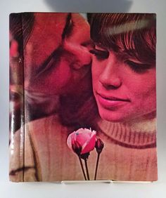 Vintage Photo Album Loving 70's Couple With Rose Retro Just Fantastic Pictures  #PhotoAlbum