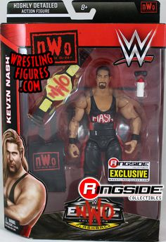 Rare WWE WWF Classic Superstars Action Figure SCOTT HALL KEVIN NASH Limited